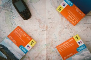 Eine Karte, drei separate Karten und ein Wander-Navi von Garmin